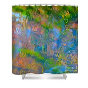 Colonial Glass Polarized Shower Curtain