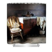 Colonial Nightclothes Shower Curtain
