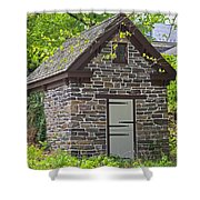 Colonial Stone Ice House Shower Curtain