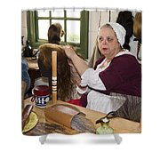 Colonial Wigmaker Shower Curtain