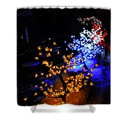 Color Berries Shower Curtain