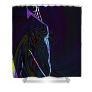 Color Body Shower Curtain
