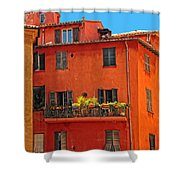 Color In Provence Shower Curtain