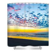 Color In The Sky Shower Curtain