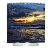 Color Of Light V3 Shower Curtain