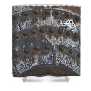 Color Of Steel 7a Shower Curtain