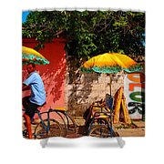 Color Shower Curtain by Skip Hunt