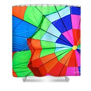 Color Wheel Take 2 Shower Curtain