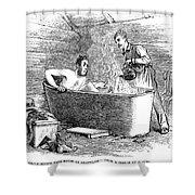 Colorado Bathhouse, 1879 Shower Curtain