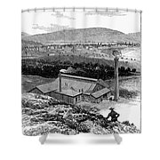 Colorado: Durango, 1883 Shower Curtain