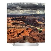 Colorado In The Canyons Shower Curtain