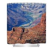 Colorado River I Shower Curtain