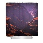 Colorado River II Shower Curtain