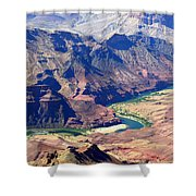 Colorado River IIi Shower Curtain