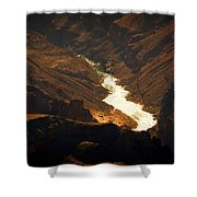Colorado River Rapids Shower Curtain