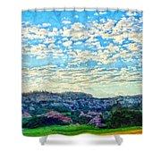 Colorado Skies 1 Shower Curtain