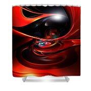 Colorfast Eye Remaster Fx  Shower Curtain