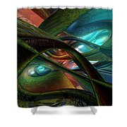Colorfast Picasso Fx  Shower Curtain