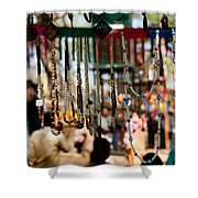 Colorful Beads At The Surajkund Mela Shower Curtain