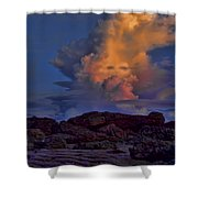 Colorful Cloud Shower Curtain