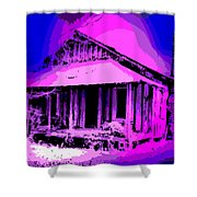 Colorful Cracker House Shower Curtain