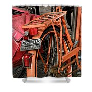 Colorful Dutch Bikes Shower Curtain