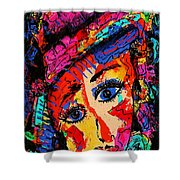 Colorful Expression 19 Shower Curtain
