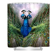 Colorful Friendship Shower Curtain