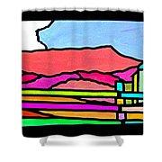 Colorful Massanutten Peak Shower Curtain