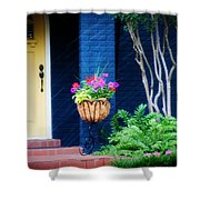 Colorful Porch Shower Curtain