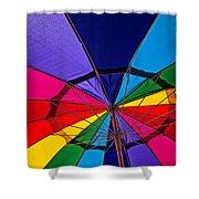 Colorful Umbrella Shower Curtain