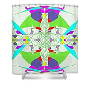 Colorization Shower Curtain