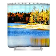 Colors At Chena Shower Curtain