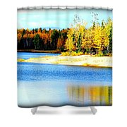 Colors At Chena Ll Shower Curtain