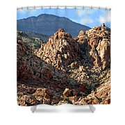 Colors In The Desert Shower Curtain