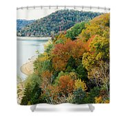 Colors Of A Tennessee Fall Shower Curtain