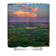 Colors Of The Palouse Shower Curtain