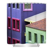 Colors Of Tucson Shower Curtain