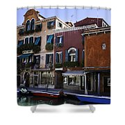 Colors Of Venice Shower Curtain