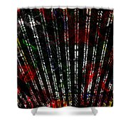 Colours Are Canned  Shower Curtain