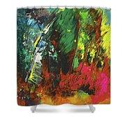 Colours Symphony Shower Curtain