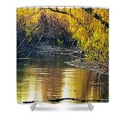 Columbia Bottoms Slough II Shower Curtain