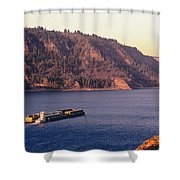 Columbia River Shower Curtain