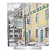Columbian House In Waterville Oh Shower Curtain