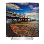 Colwyn Pier Shower Curtain