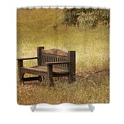 Come And Sit A Spell Shower Curtain