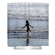 Come As A Child Shower Curtain by Holly Ethan