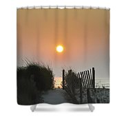 Come Greet The Sunrise Shower Curtain
