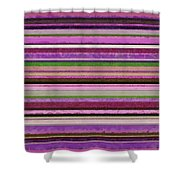 Comfortable Stripes Lll Shower Curtain