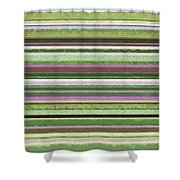 Comfortable Stripes Lv Shower Curtain